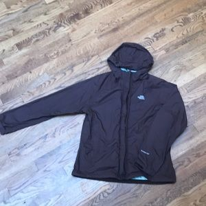 The North Face rain coat